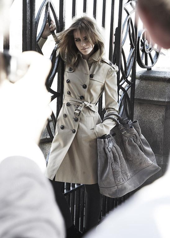 Emma Watson para burberry, en 2009