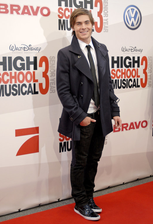 Zac Efron, high school musical 3