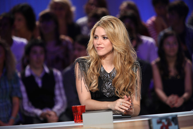 Shakira au grand journal