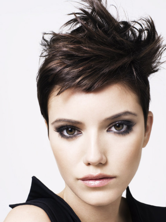 Short brown hair style by Neil Smith @ Barie Stephen Hair