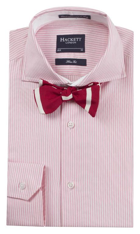 Hackett Herrenhemd - gestreiftes Hemd - Hackett