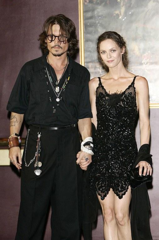 Vanessa Paradis y Johnny Depp, 2006
