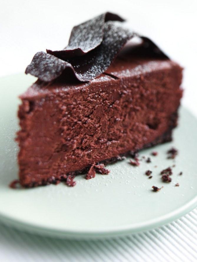 Dolci al cioccolato: Torta fondente al cioccolato e caffè