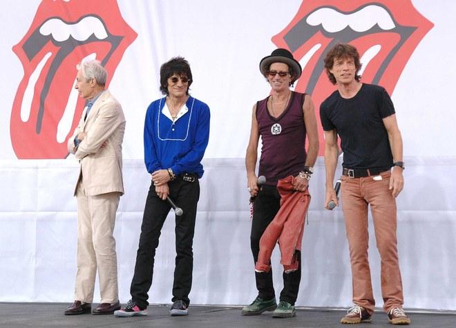 Les Rolling Stones: une tournée en Amérique & un nouvel album ! 2005