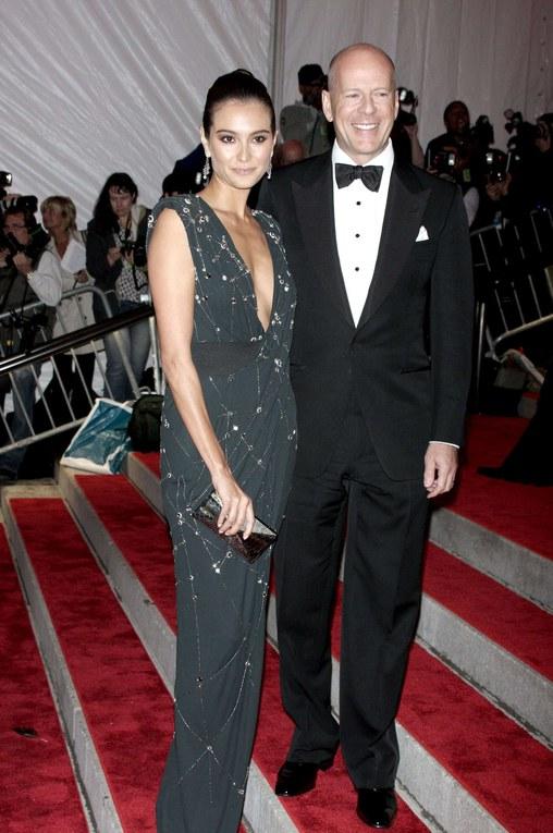 Bruce Willis sa femme Emma Heming à un gala-2009