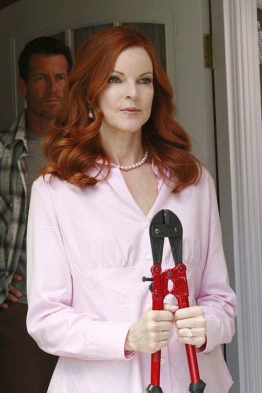 La vengeance de Marcia Cross !!