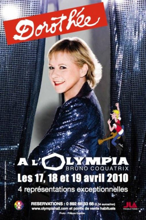 Dorothée à l'Olympia en avril 2010