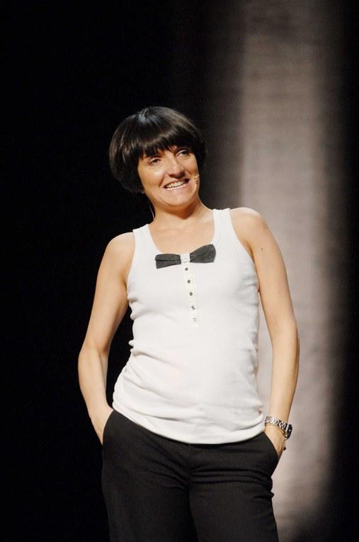 """Florence Foresti lors de la présentation du Festival """"Juste pour rire"""" 2007"""