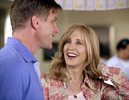 Felicity Huffman et Doug Savant, le couple inédit de Wisteria Lane !