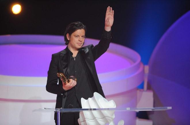 Benjamin Biolay au Victoires de la Musique 2010