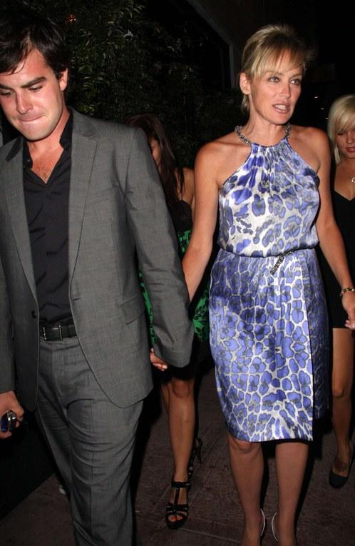 Sharon Stone, Août 2008