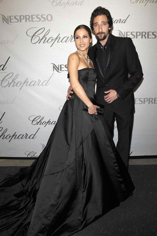 Adrian Brody et sa douce à la soirée Chopard au Festival de Cannes