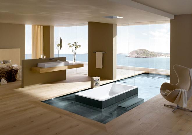 Salle de bain Bassino, Kaldewei