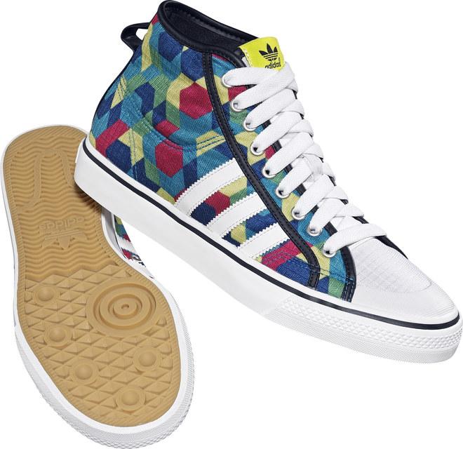 Baskets Adidas pour homme - Collection Eté 2010