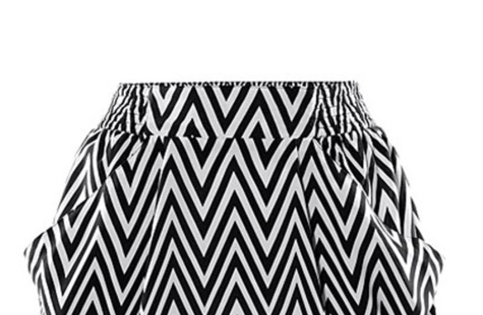 Mode in schwarz-weiß