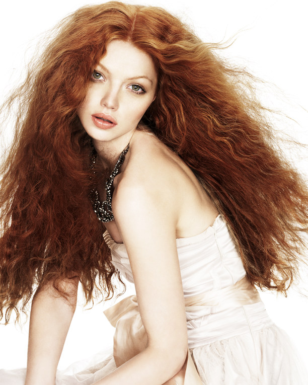 Cortes y peinados para cabello rizado 2011