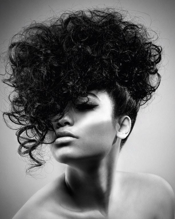 Peinados Para Cabello Oscuro Foto Enfemenino