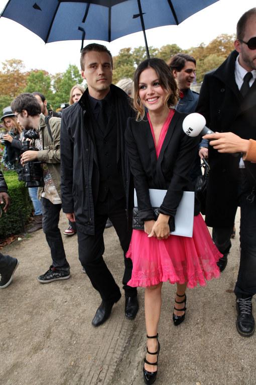 Rachel Bilson - Dior Modenschau - Fashion Week Paris FS 2011