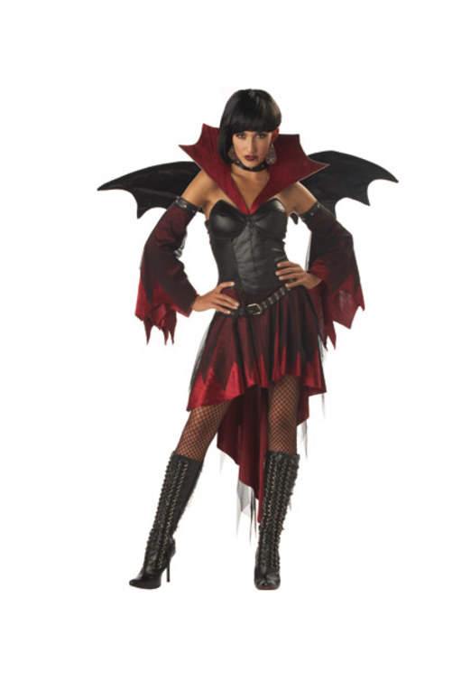 Womens Fancy Dress: sexy vampire costume