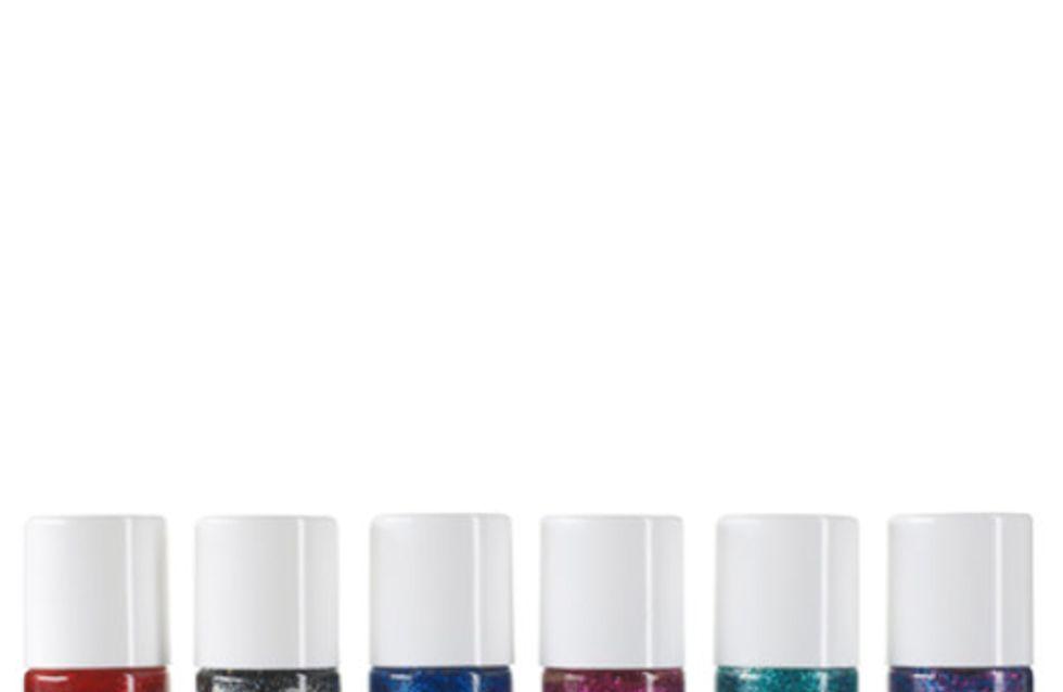 Make-up: glitter, sparkle, shimmer
