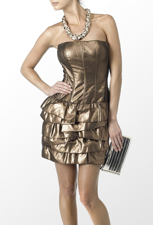 Designer Christmas party dresses