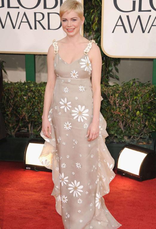 Golden Globes Worst Dressed - Michelle Williams