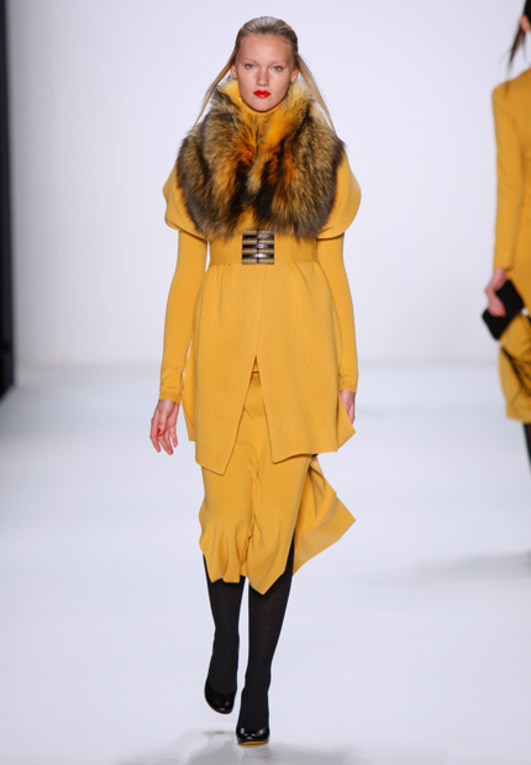Allude auf der Mercedes Benz Fashion Week Herbst/Winter 2011/2012