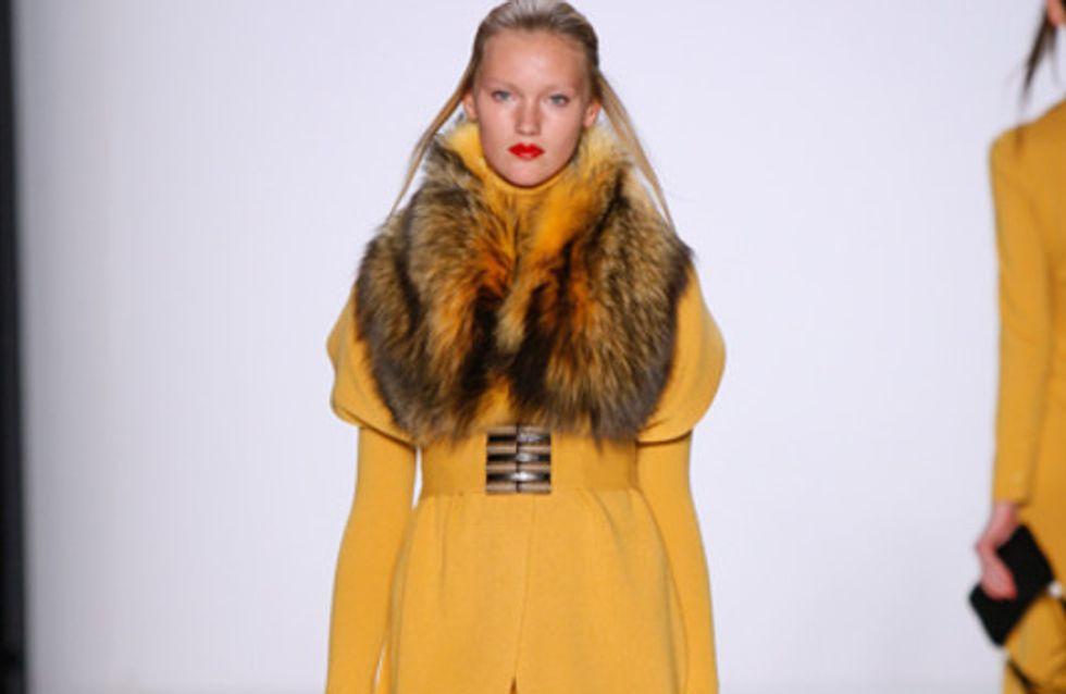 Allude auf der Mercedes Benz Fashion Week Herbst/Winter 2011/2012