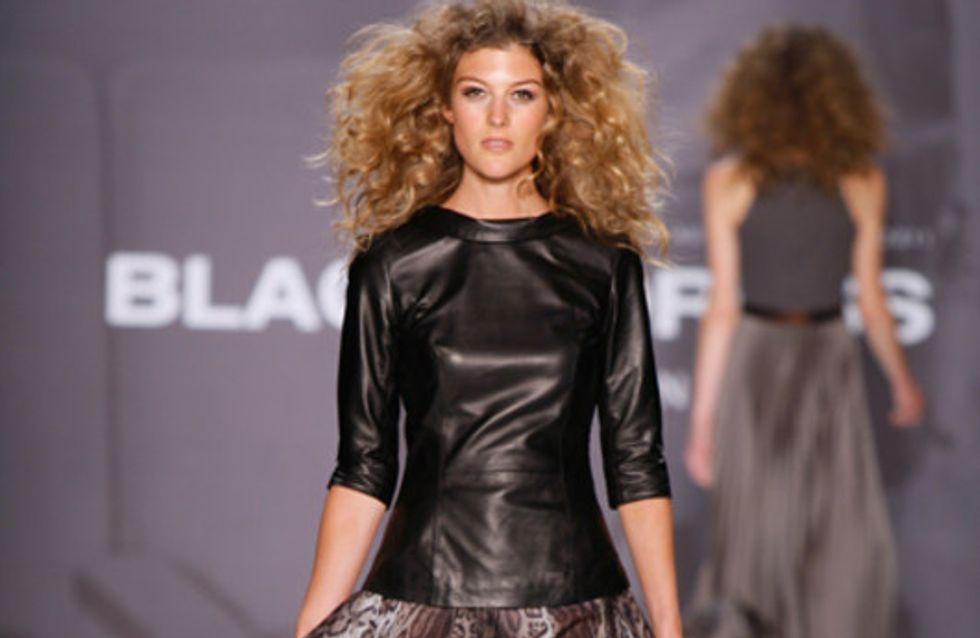 Blacky Dress auf der Mercedes Benz Fashion Week Berlin Herbst/Winter 2011/2012
