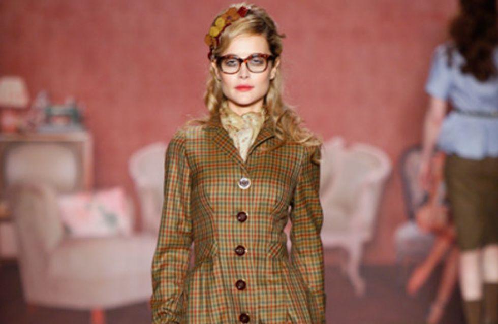 Lena Hoschek auf der Mercedes Benz Fashion Week Berlin Herbst/Winter 2011/2012