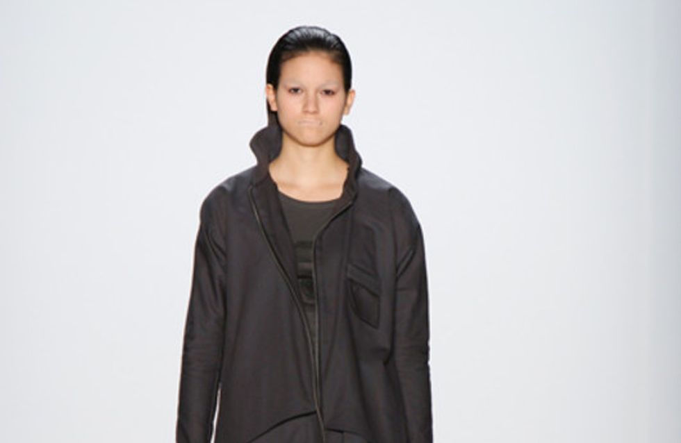 Patrick Mohr auf der Mercedes Benz Fashion Week Berlin Herbst/Winter 2011/2012