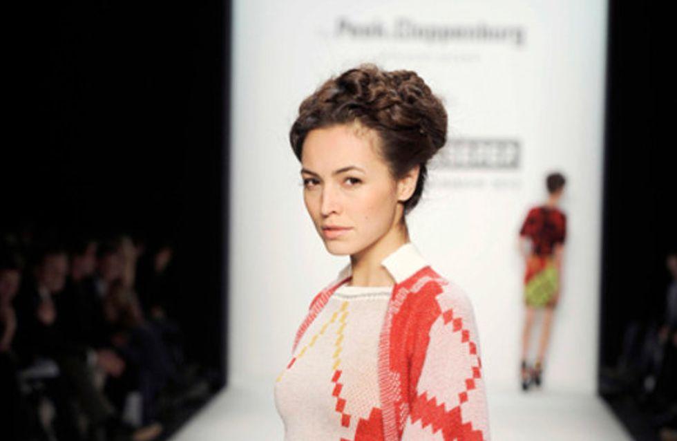 Parsival Cserer auf der Mercedes Benz Fashion Week Herbst/Winter 2011/2012