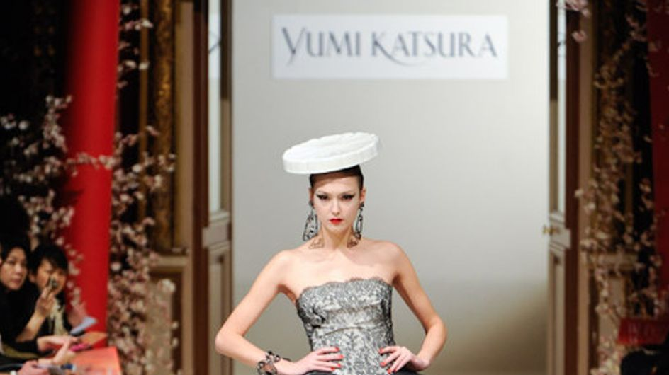 Sfilata Yumi Katsura by Ji Haye - Parigi Haute Couture PE 2011