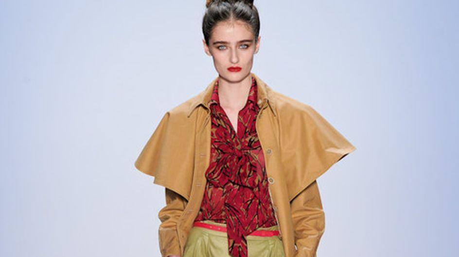 Fashion Show Luca Luca - New York – Fashion Week Autumn Winter - New York 2011