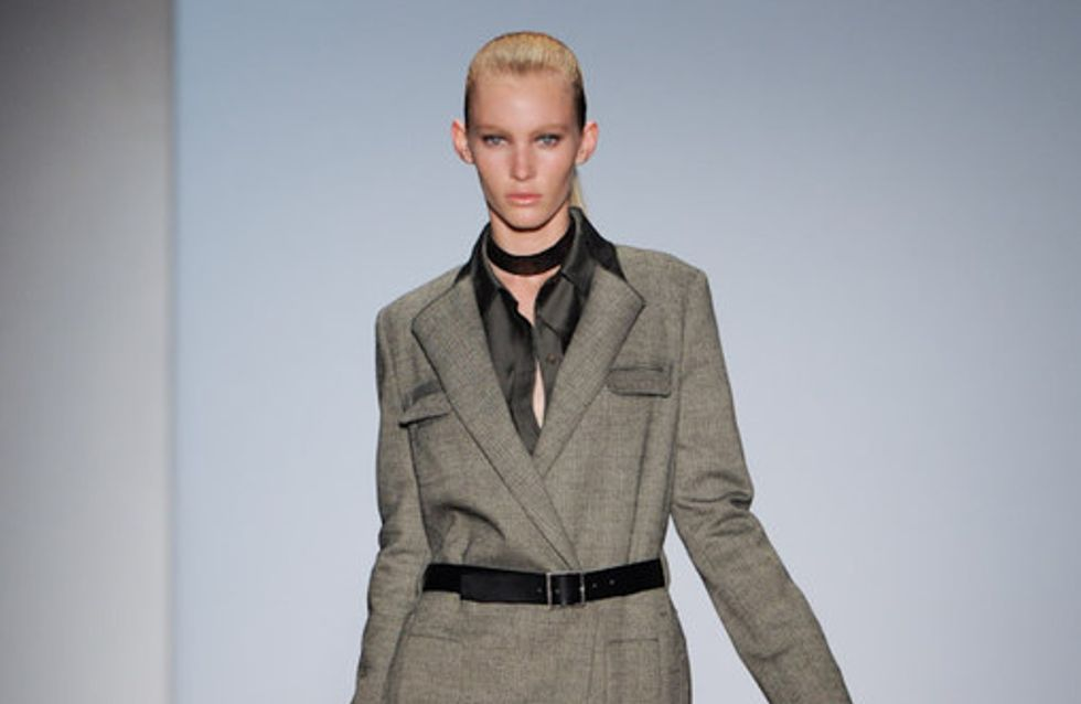 DKNY: New York Fashion Week HW 2011/12