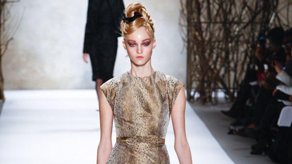 Monique Lhuillier: New York Fashion Week HW 2011/12