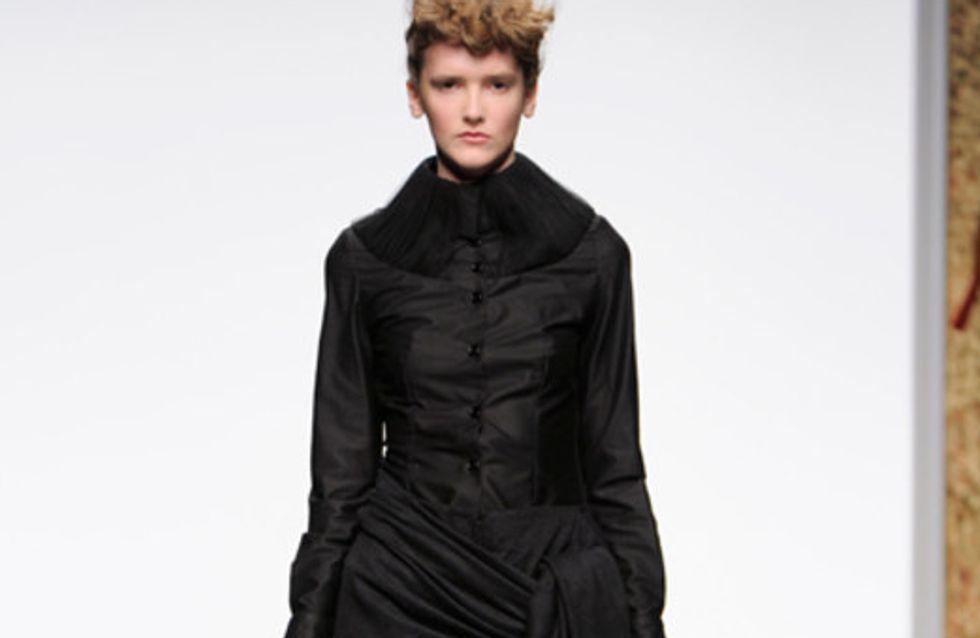 Corrie Nielsen auf der London Fashion Week HW 2011/12