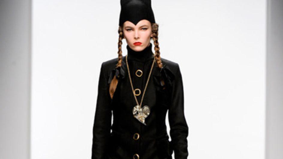 PPQ auf der London Fashion Week HW 2011/12