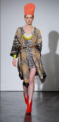 Sfilata Sass & Bide - London Fashion Week A/I 2011