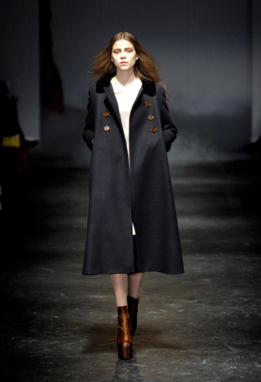 Charles Anastase - Coat London Fashion Week 2011 | LFW 2011