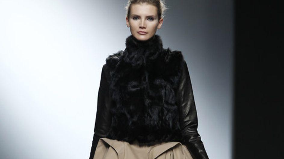 AA de Amaya Arzuaga - Cibeles Madrid Fashion Week Otoño Invierno 2011-2012