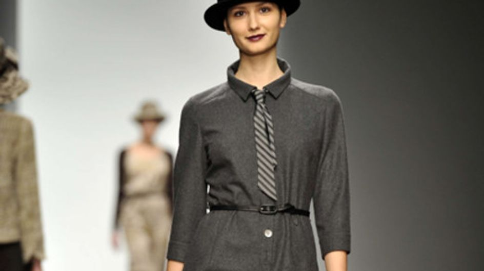 Caroline Charles - London Fashion Week otoño invierno 2011 2012
