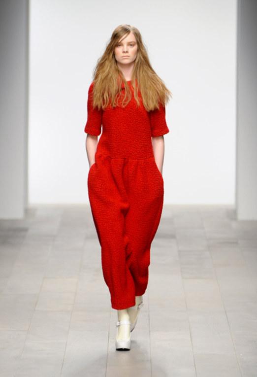 Betty Jackson - playsuit London Fashion Week 2011 | LFW 2011
