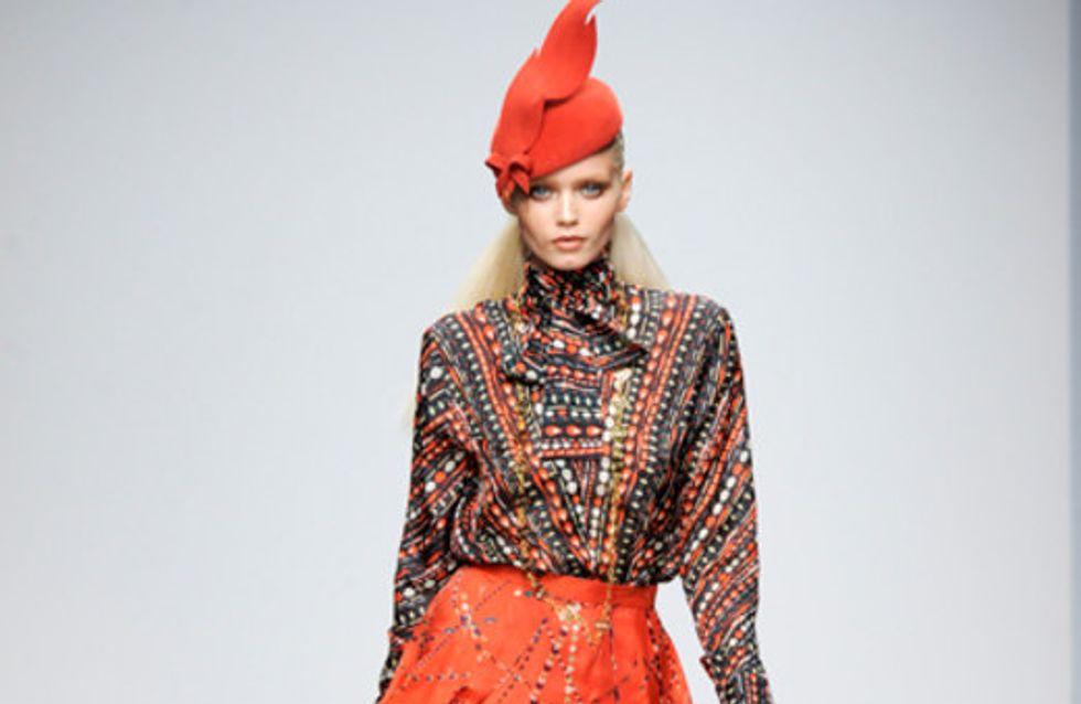 Issa London: London Fashion Week  Herbst/Winter 2011/12