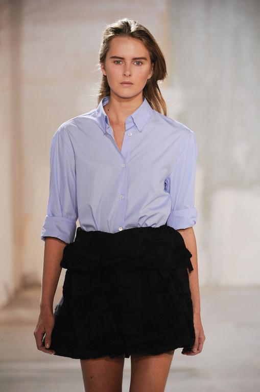 Acne shirt London Fashion Week 2011 | LFW 2011