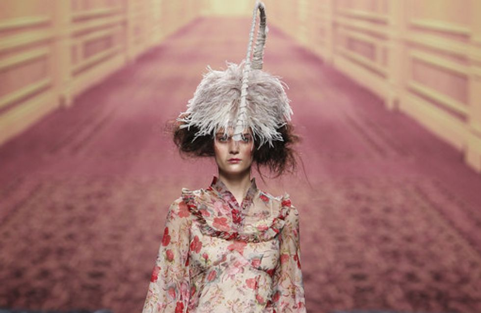 Alma Aguilar - Cibeles Madrid Fashion Week Otoño Invierno 2011-2012