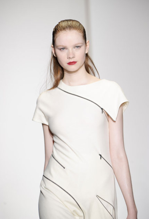 Nicole Farhi: London Fashion Week Herbst/Winter 2011/12