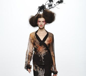 Elisa Palomino - Cibeles Madrid Fashion Week 2011 2012