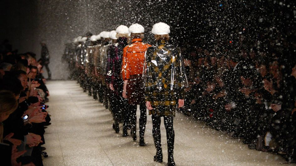 Burberry Prorsum - London Fashion Week otoño invierno 2011 2012