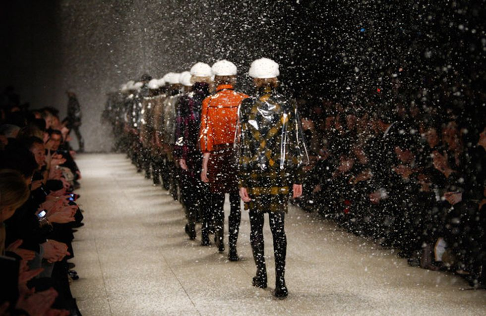 Burberry Prorsum - London Fashion Week otoño invierno 2011 2012